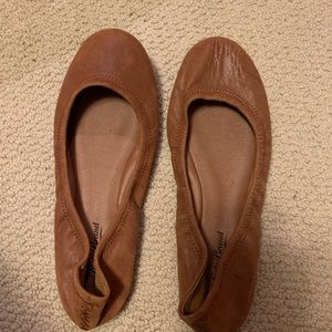"Lucky Brand ""Emmie"" Leather Flats"